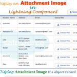 How to display upload Image if a record existing an attachment in lightning component?