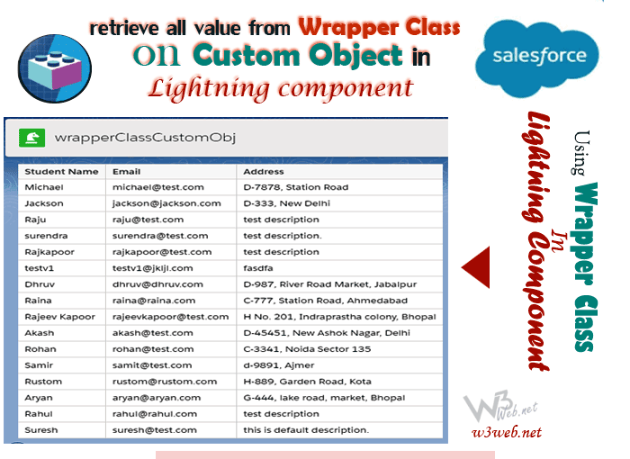 Wrapper class in salesforce by w3web.net