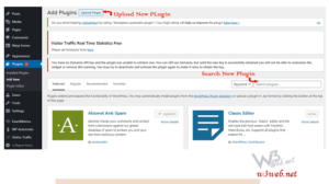 How to add plugins to your blog by w3web.net
