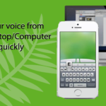 How to voice typing in computer from mobile?