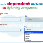 Dynamic custom dependent picklist in lightning component