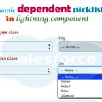Dynamic custom dependent picklist in lightning component