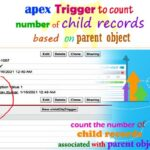 Apex trigger to count child records -- w3web.net