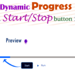 How to displays a horizontal dynamic progress bar from left to right when you click a Start/Stop button uses of lightning-progress-bar element in lightning web component — LWC | How to create dynamic progress bar in lwc