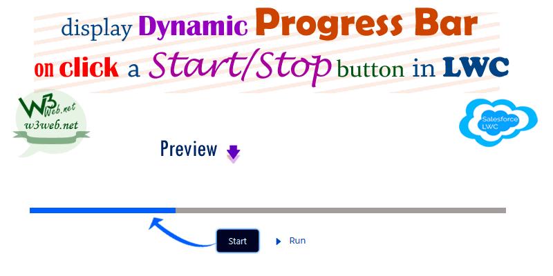 horizontal dynamic progress bar in lwc -- w3web.net