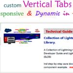 lwc custom vertical tabs dynamic changed -- www.w3web.net