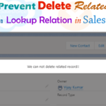 trigger to prevent delete related record based on lookup relation in salesforce -- w3web.net