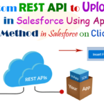 """Inserting file in Salesforce file/attachment object Using custom REST API Uses property of """"ContentVersion"""", """"ContentDocumentLink"""" and """"getBodyAsBlob()"""" in apex class post method in Salesforce 