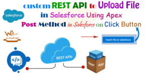 uploading files to SFDC attachment object using REST call -- w3web.net