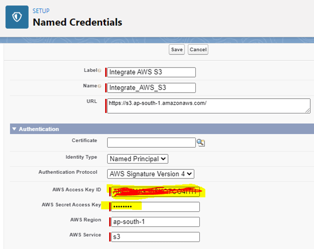 Named Credentials in Salesforce -- w3web.net