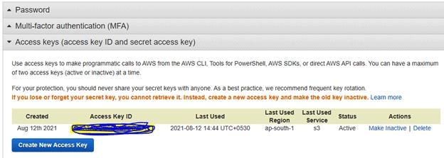 AWS S# AWSSecretKey -- w3web.net
