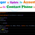 Write a trigger to update parent account phone number when ever the contact phone number is updated using trigger handler and helper class in Salesforce | How to update Account phone from Contact Phone based on lookup relationship in Salesforce