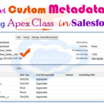 How to fetch/customize the custom metadata and display the list of metadata in lightning component using Apex class in Salesforce Lightning Web Component — LWC  | how to get custom Metadata in lwc using Apex