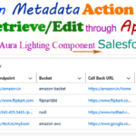 How to Fetch/Edit Custom Metadata Type Records Uses of lightning:datatable and onrowaction operation in Lightning Component Salesforce | how to custom metadata retrieve/edit through apex in aura lighting component Salesforce