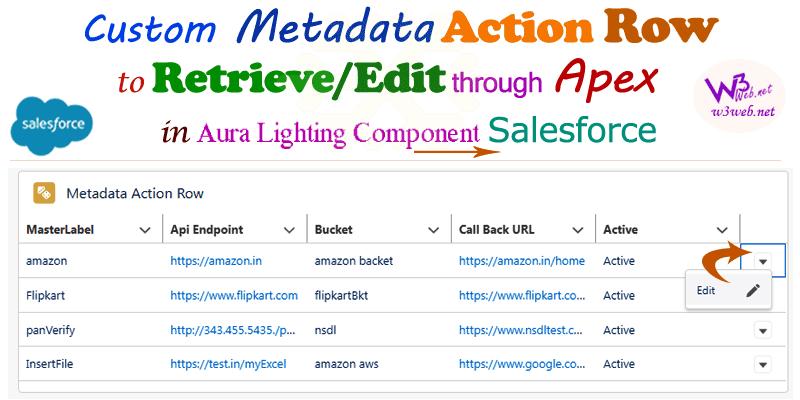 custom metadata record type retrieve edit through apex salesforce -- w3web.net