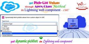 dynamic picklist in lightning web component -- w3web.net